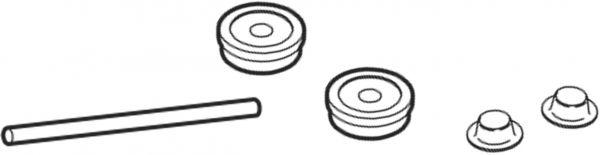 8750093 Achse für Mini Zwei-Radroller Modell 433