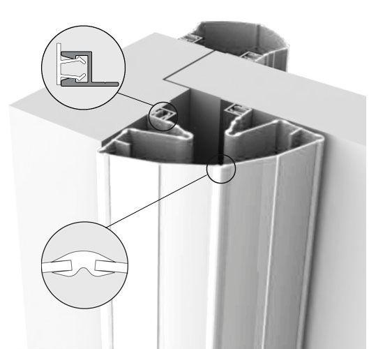 Fingerschutz Finprotect 50/90mm, Länge 2,50 m