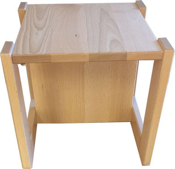 Wende- Zauberhocker Sitzhöhe 15, 22, 35cm SH