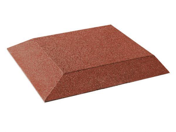 Fallschutz Eckplatten 30 mm, 500x500x30 mm