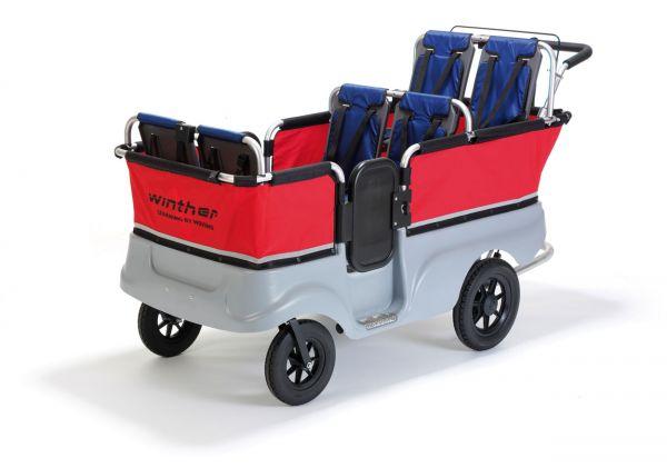 Zubehör für Turtle Kinderbus für 6 Kinder