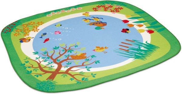 Spielteppich Teich