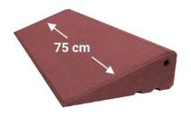 Türschwellenrampe 750mm breit, 95mm hoch