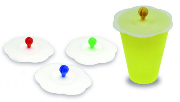 12er Set Closed-Cups / Verschlußdeckel
