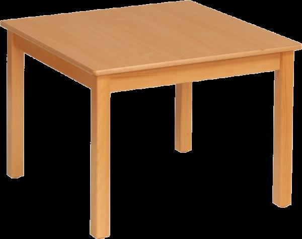 Quadrattisch 60x60cm Dekor: HPL Buche