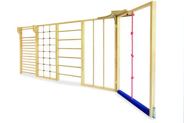 Multi-Turnwand mit Seil 5tlg