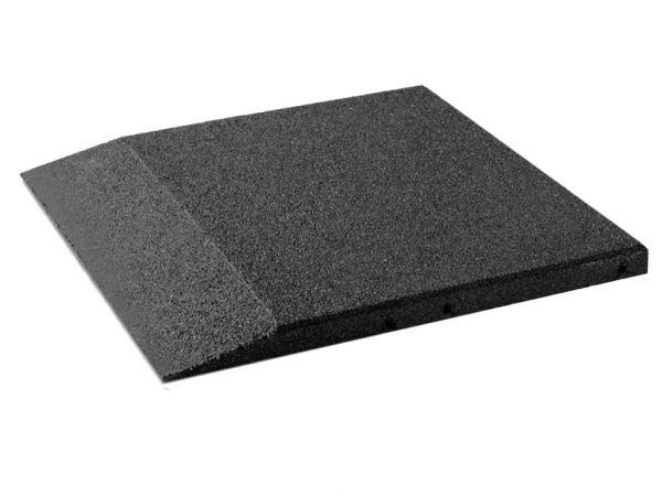 Fallschutz Randplatten 45 mm, 500x500x45 mm