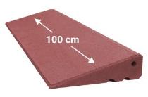 Türschwellenrampe 1000mm breit, 95mm hoch