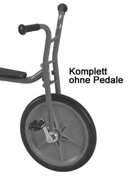 8850797 Vorderradgabel komplett mit Rad für 482