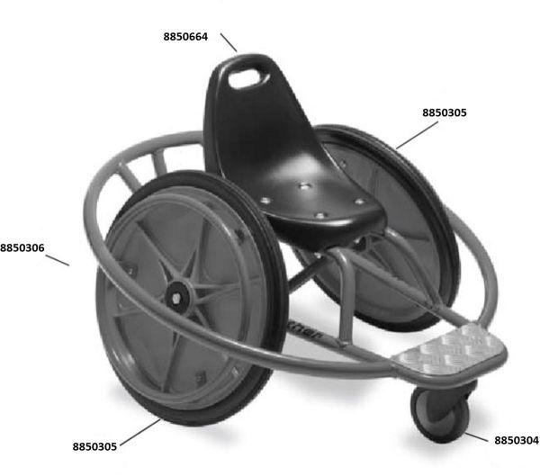 8500629 Ersatzteile für Winther WheelyRider