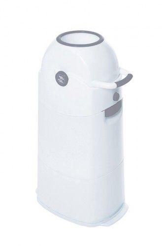Diaper Champ -Windeleimer, mittel, silber Einhandbedienung, Kapazität ca.50 Windeln/ 80L Btl