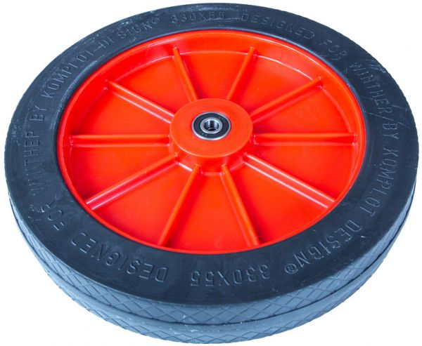 8850889 Hinterrad für Turtle 801 (alt) rote Felge