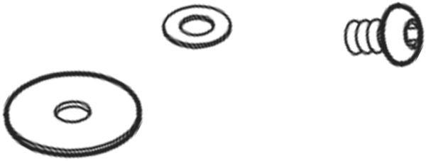 8850488 Lenkerschraube komplett für Hand- und Fußtwister 620/621/622