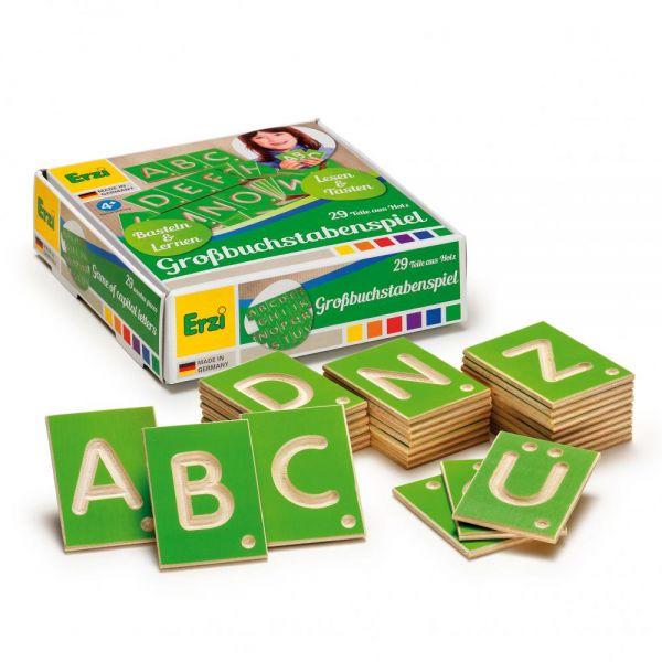 Lernspiel Großbuchstaben