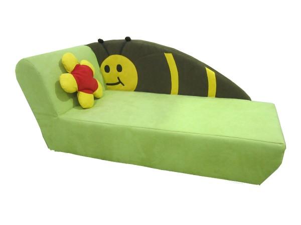 Kindersofa Biene, incl. Kissen