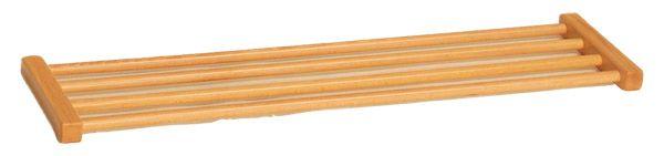 Schuhrost Holz für Garderobenbank