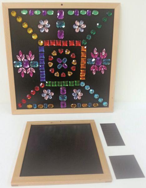 Magnettafel-Set klein Bauspiel