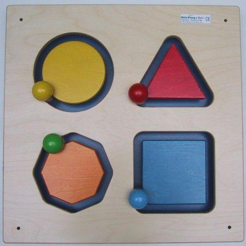 Wandspiel Geometrie 48 x48 cm
