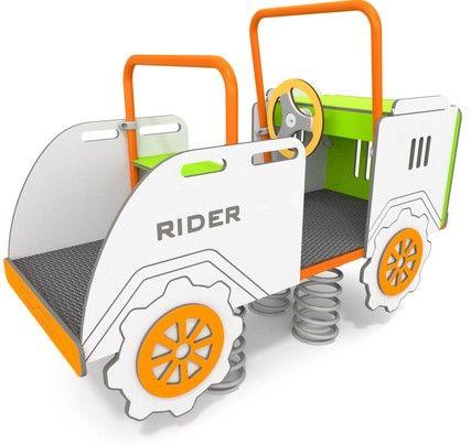 Mehrkind-Federwippe Rider für U3 geignet