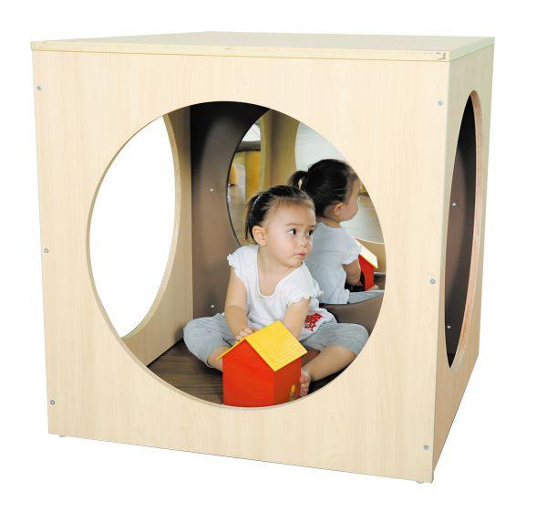 Spiegelwürfel / cubi mirror play space