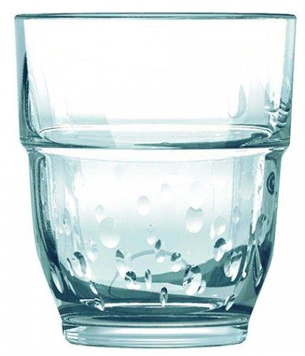Glas Stacky Oxygene Arcoroc 0,16l gehärtet