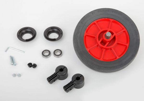 8850573 Hinterrad komplett für alle Winther Roller und Hochrad 220 x 50