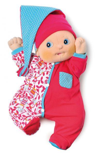 roter Pyjama für Rubens Baby