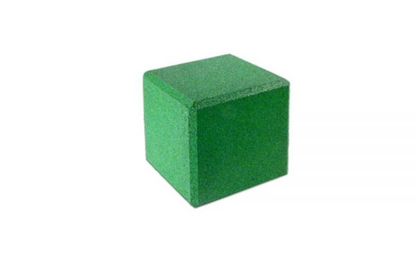 Sitzwürfel aus Gummigranulat 400 x 400 x 400mm