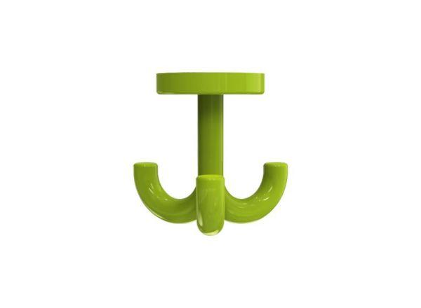 3-fach Haken für Garderobenablagen Farbe: minzgrün