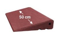 Türschwellenrampe 500mm breit, 65mm hoch