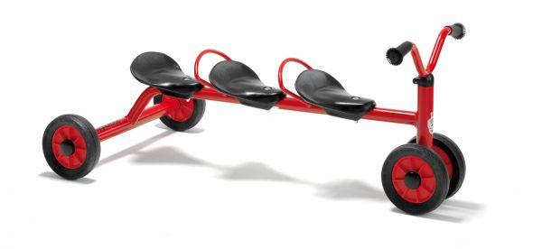 Winther MINI Rutsch Dreirad für drei