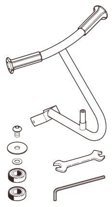 8850497 Lenker komplett für Hand-Twister 623