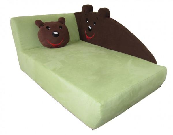 Kindersofa Bär, incl. Kissen
