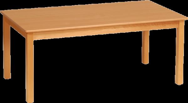 Rechtecktisch 120x80cm Dekor: HPL Buche
