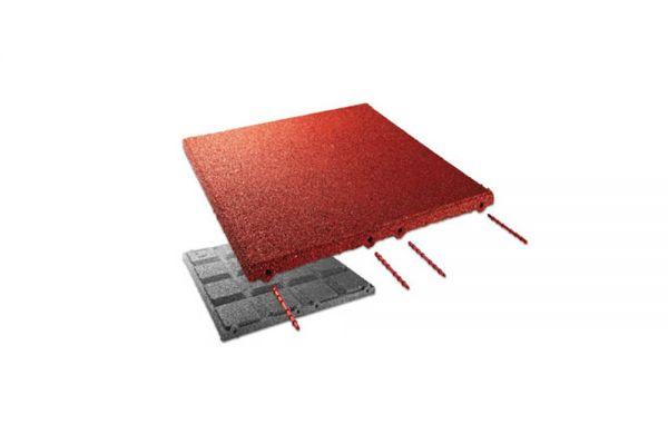 Brandschutzplatte 30 mm Farbe: rotbraun