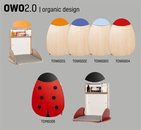Wandwickeltisch OWO 2.0 Birke