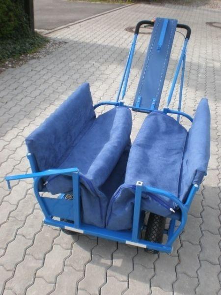 Fußsack 2 tlg. für Krippenbus