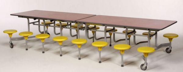 16er-Tisch-Sitz-Kombination Sico, 34,0cm Sitzhöhe