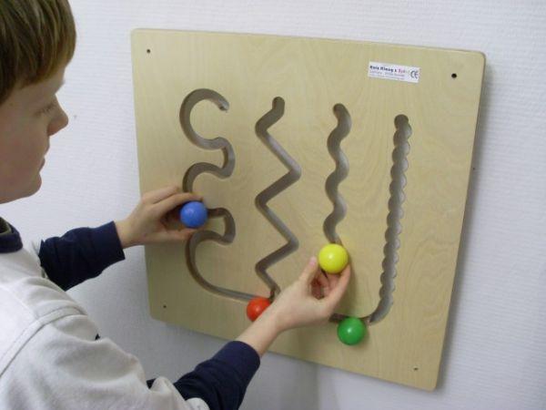 Wandspiel Parcours 48 x48 cm