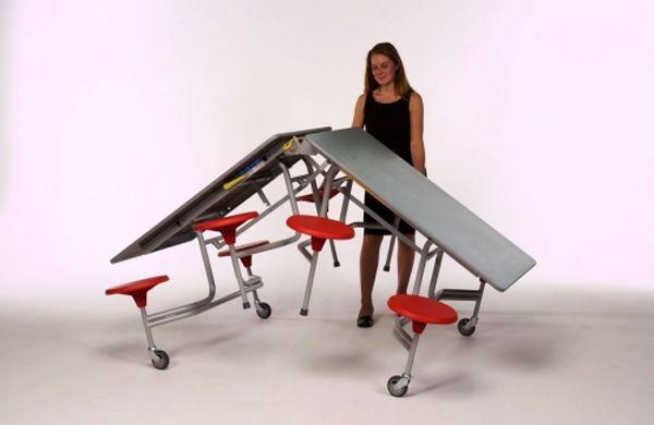 8er-Tisch-Sitz-Kombination Sico, 38,5cm Sitzhöhe