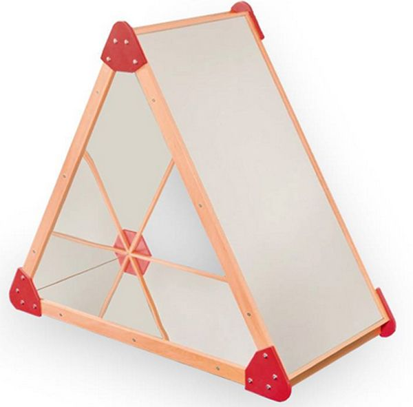 Spiegelpyramide 120x105x57cm