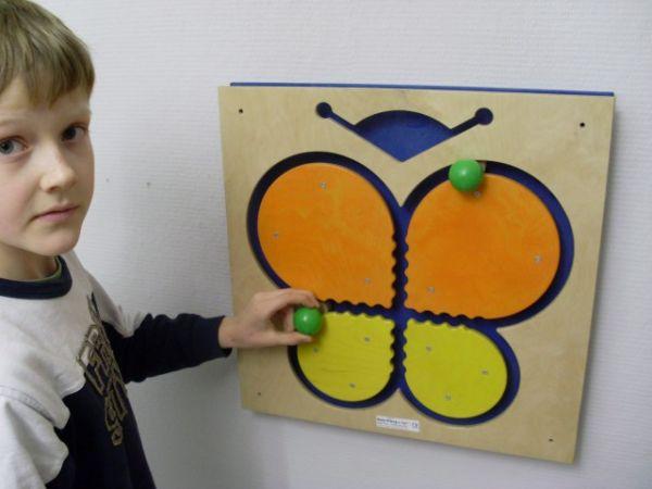 Wandspiel Schmetterling 48 x48 cm