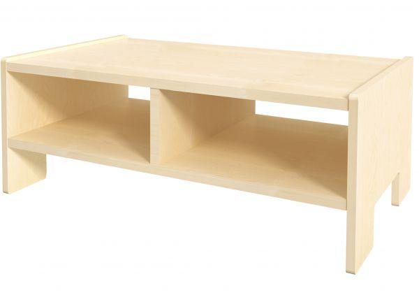 Tisch mit Ablagefächern / storage table