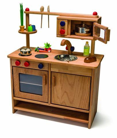 """Spielküche aus Holz """"Pantryküche"""" 73,5 x 90 cm"""