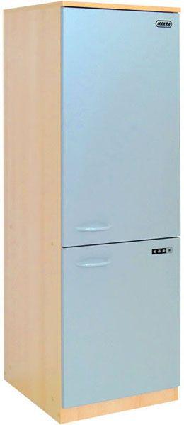 Hochschrank mit großem Kühlschrank für Küchenzeile LEA 40 x 125 x 42 cm