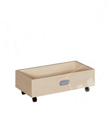 Rollkasten für 24 cm Podeste schmal 62x20x32 cm