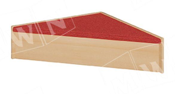 Podest Dreieck 78x24x78 cm