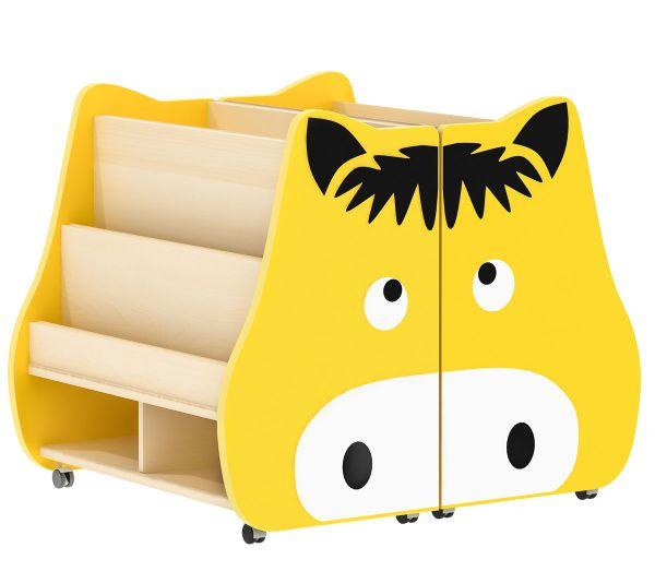 Bücherkiste Pony fahr- und klappbar