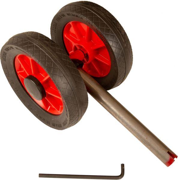 8750178 Gabel mit 2 Räder für Mini Winther-Fahrzeuge 431/432/435/439
