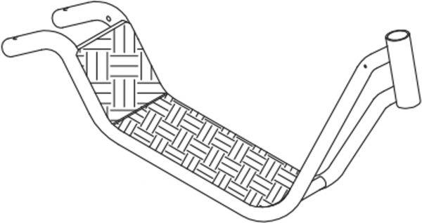 8850544 Rahmen für Winther-Roller Maxi 495